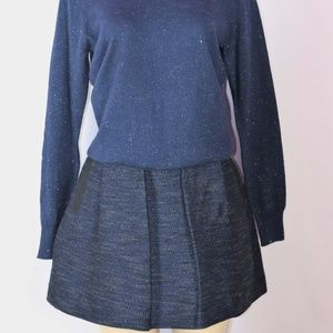 BRAND NEW FRENCH CONNECTION BLUE FULL SKIRT SIZE 6